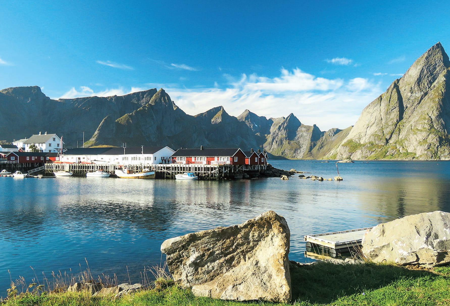 Reisen Polarschiff Dorf