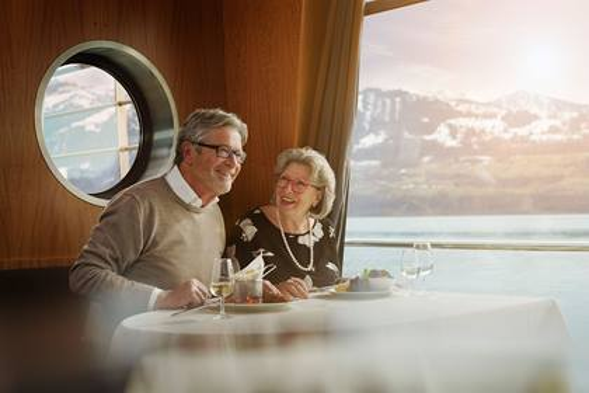 Auf dem Mittagsschiff