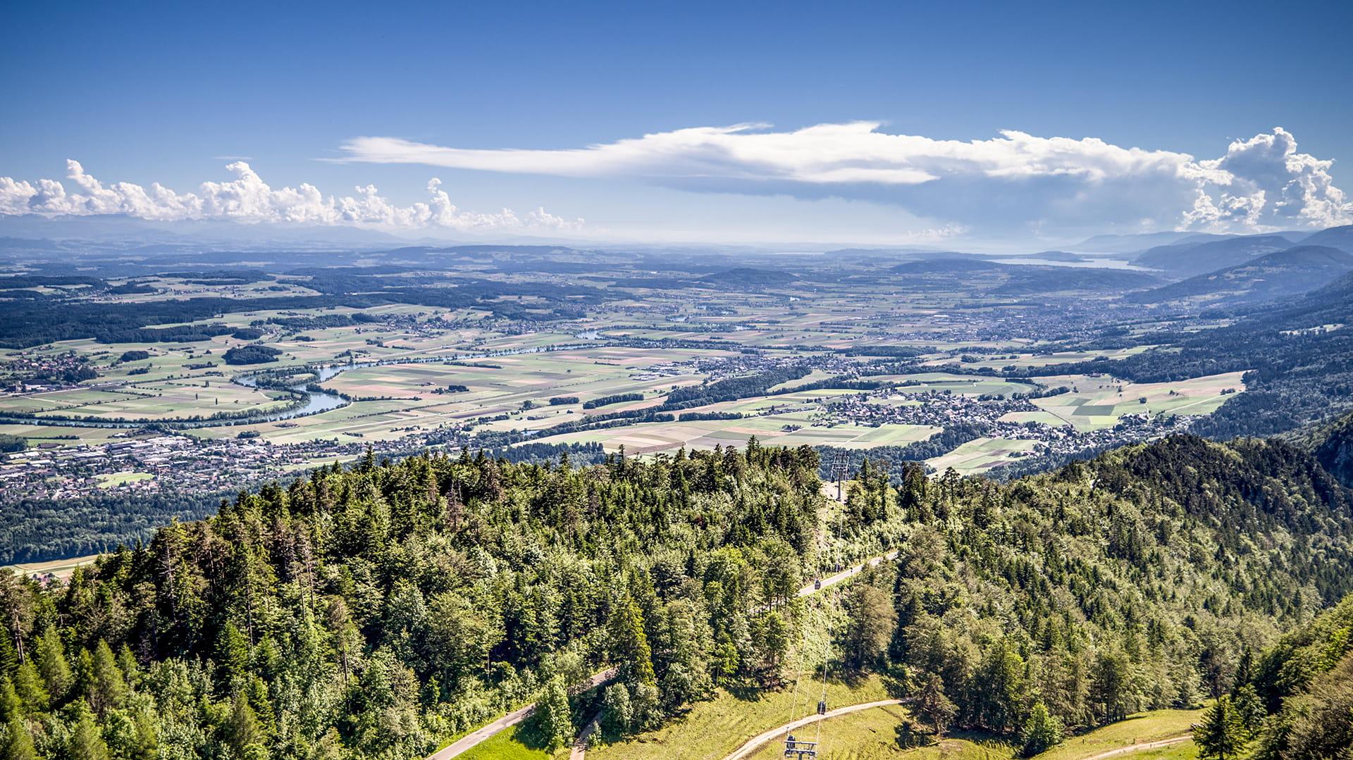 Ausblick vom Weissenstein