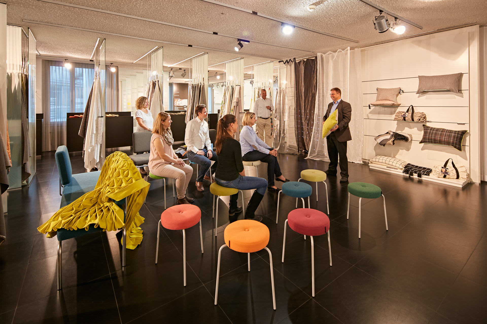 Langenthal Showroom Tour – Baumann