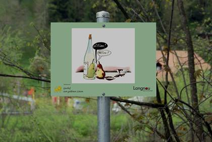 Langnauer Cartoonweg