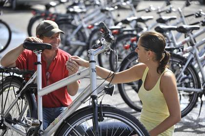 Occasions-Outlet von «Rent a Bike»
