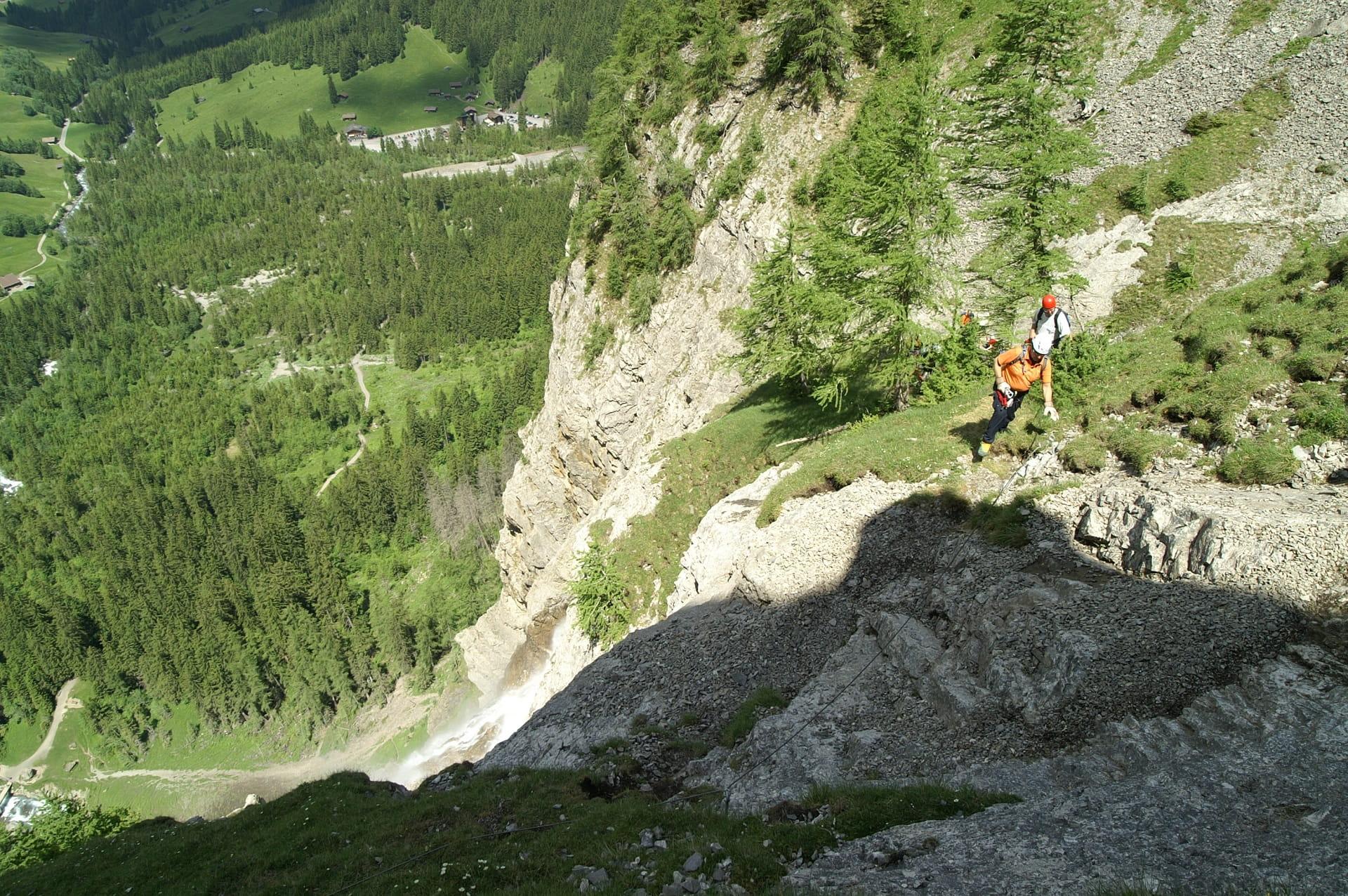 Klettersteig Engstligenalp : Engstligenalp klettersteig chäligang ausflüge