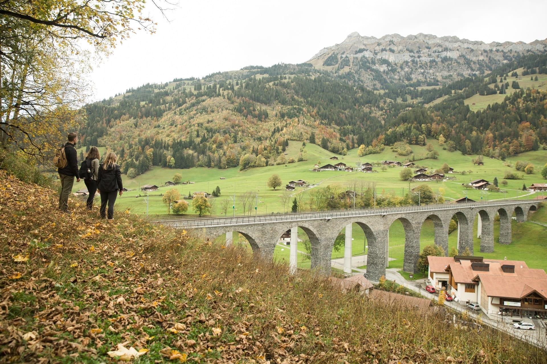 BLS Bahnwanderweg Lötschberger Nordrampe
