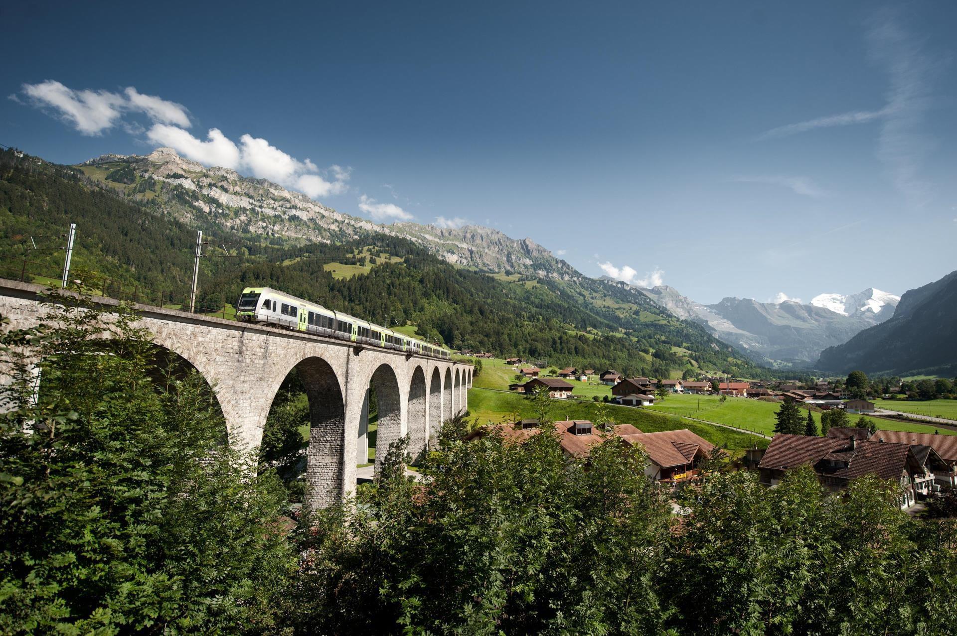 Loetschberger Rundreise Kanderviadukt