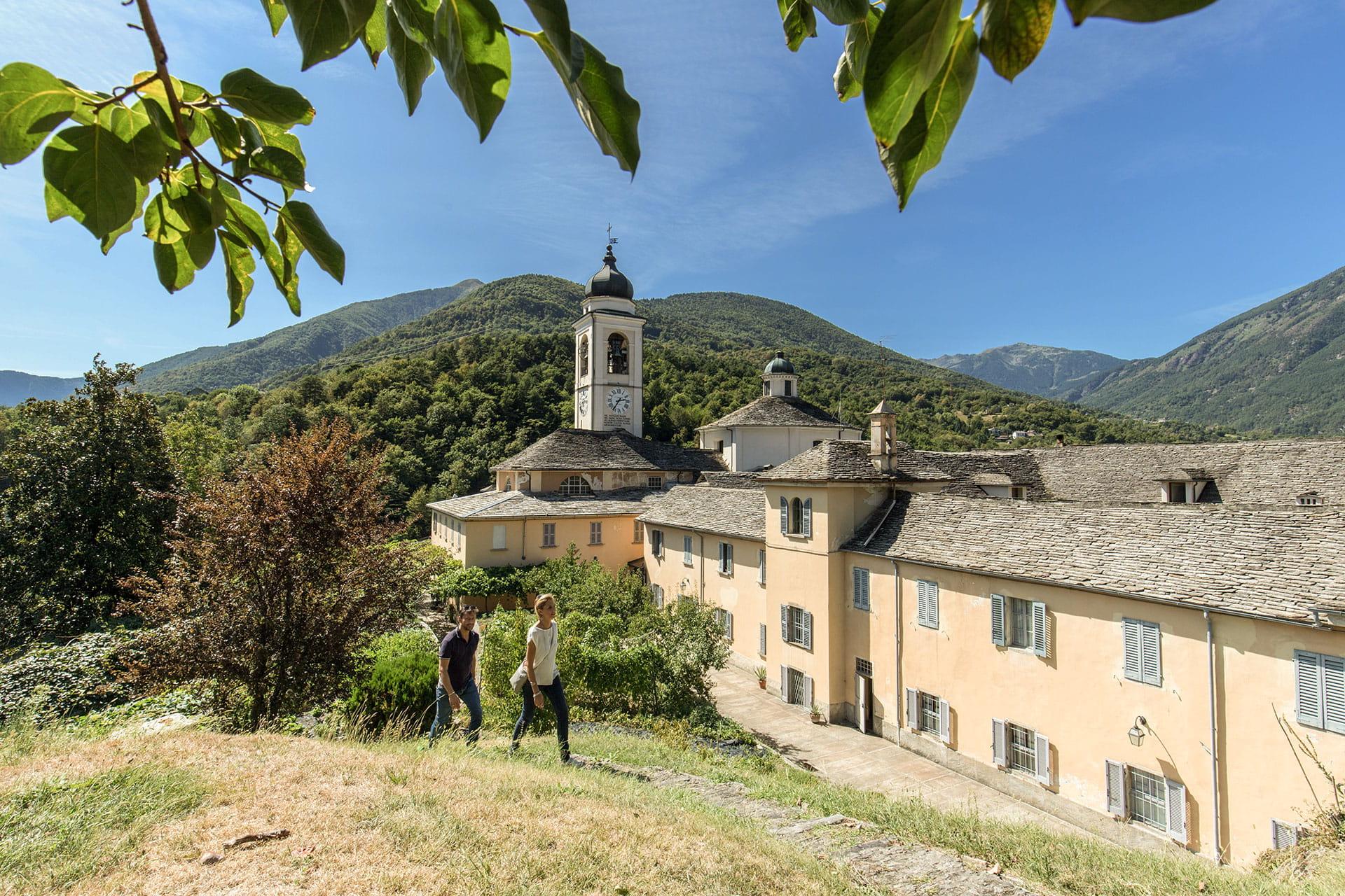 Domodossola - Monte Calvario - Pilgerweg