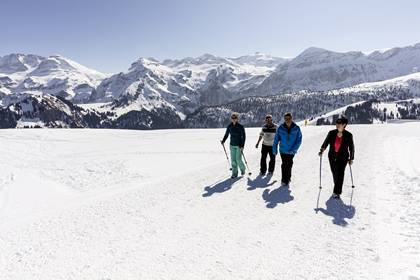 Winterwanderparadies Lenk