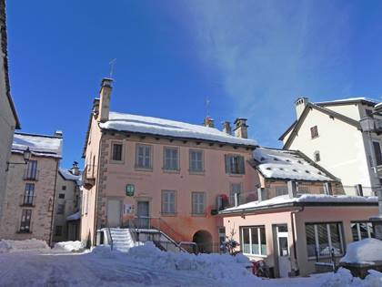 Das Museo Malesco in Valle Vigezzo im Winter.