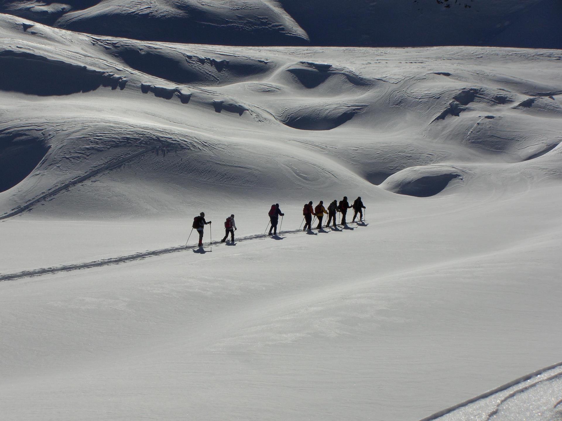 Geführte Festtags Skitouren an der Südrampe