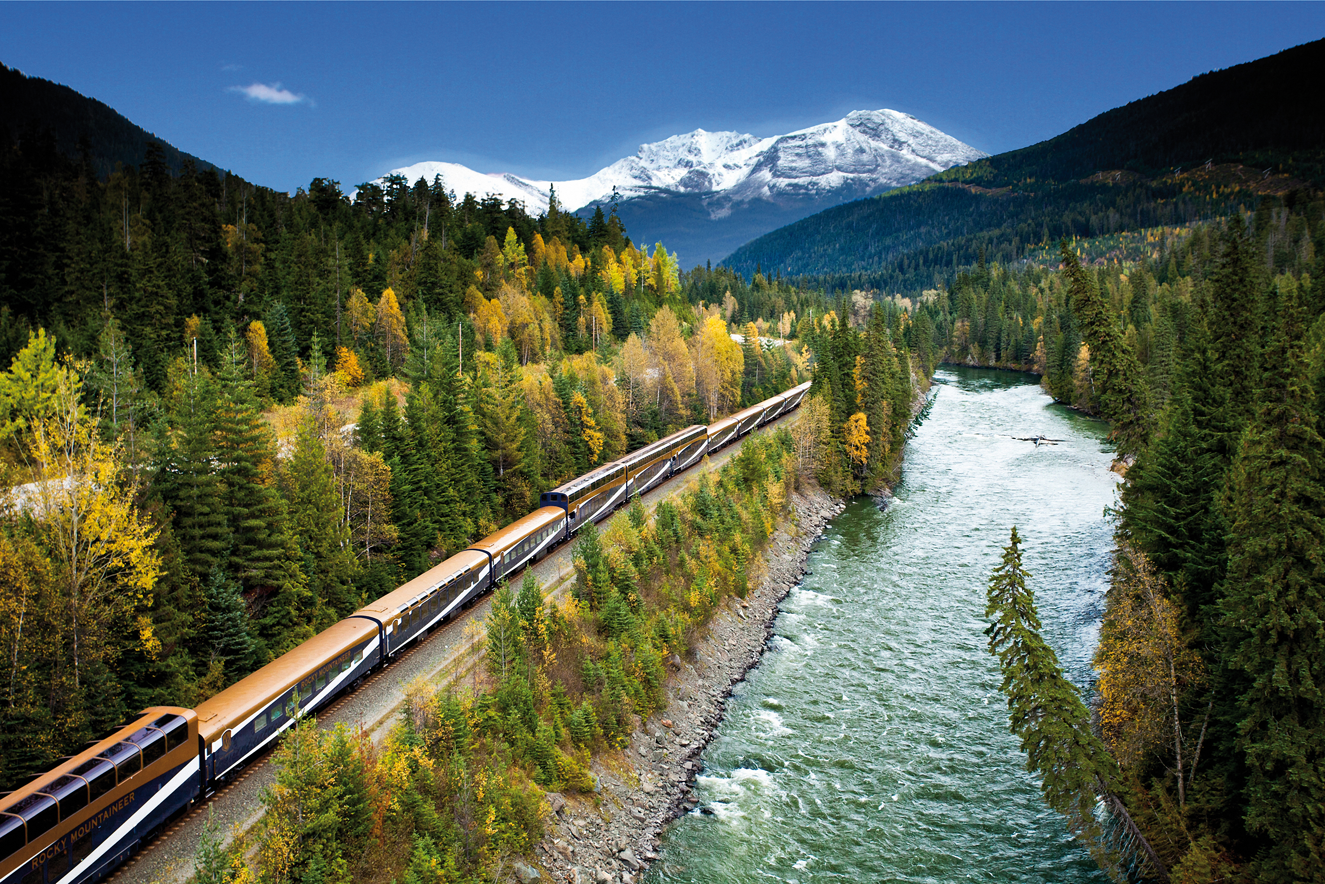 Goldener Ahorn Rocky Mountaineer