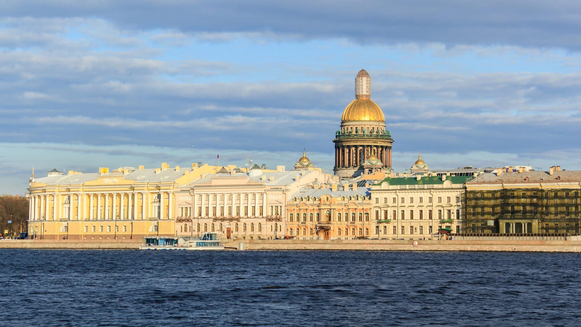 Isaakievsky Kathedrale in St. Petersburg