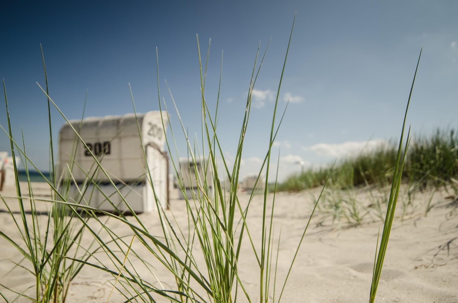 Strandkorb Rgen