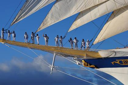 Segelschiff Royal Clipper: Crew