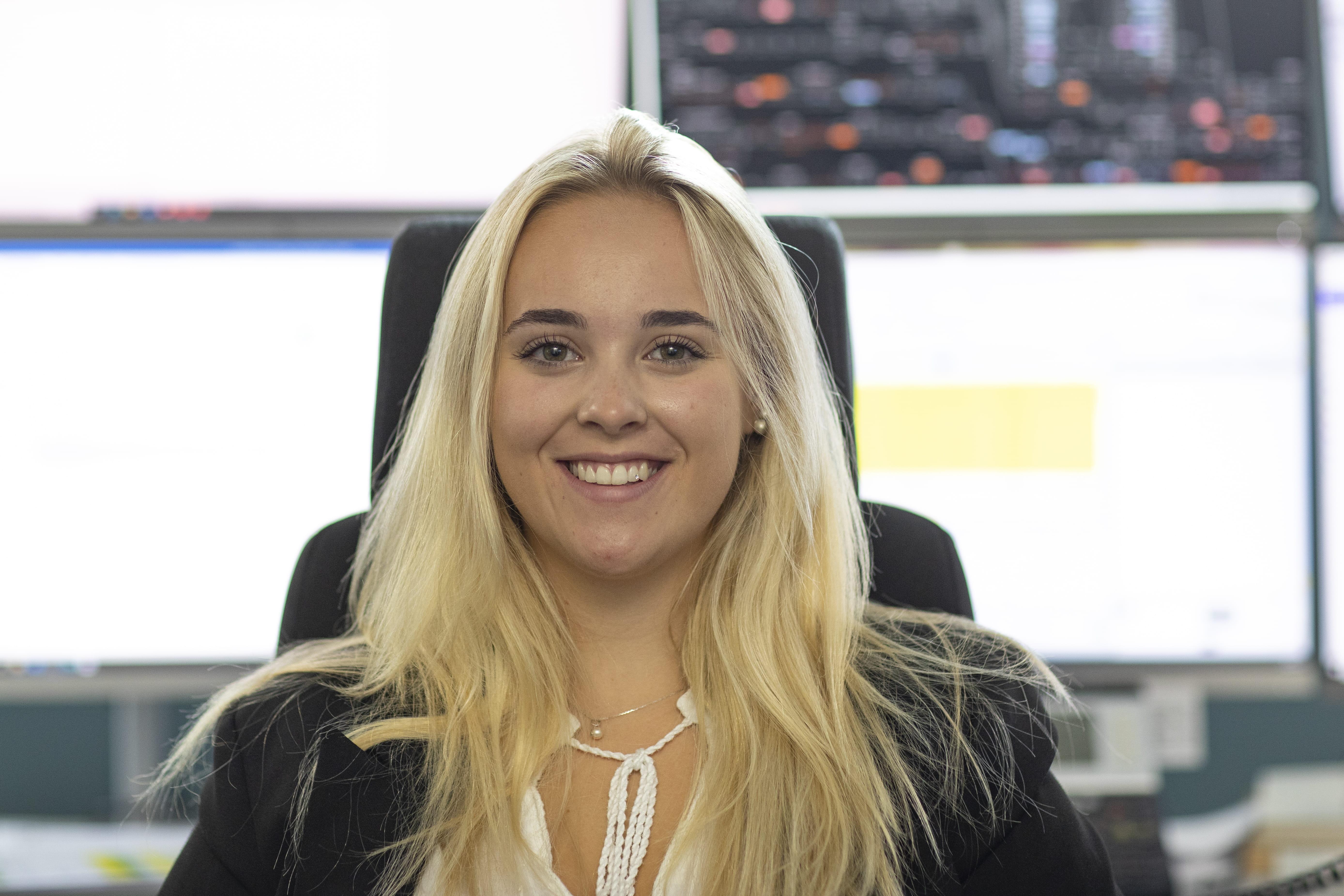 Melanie Lambert Lernende Fachfrau OeV Mobilitaet