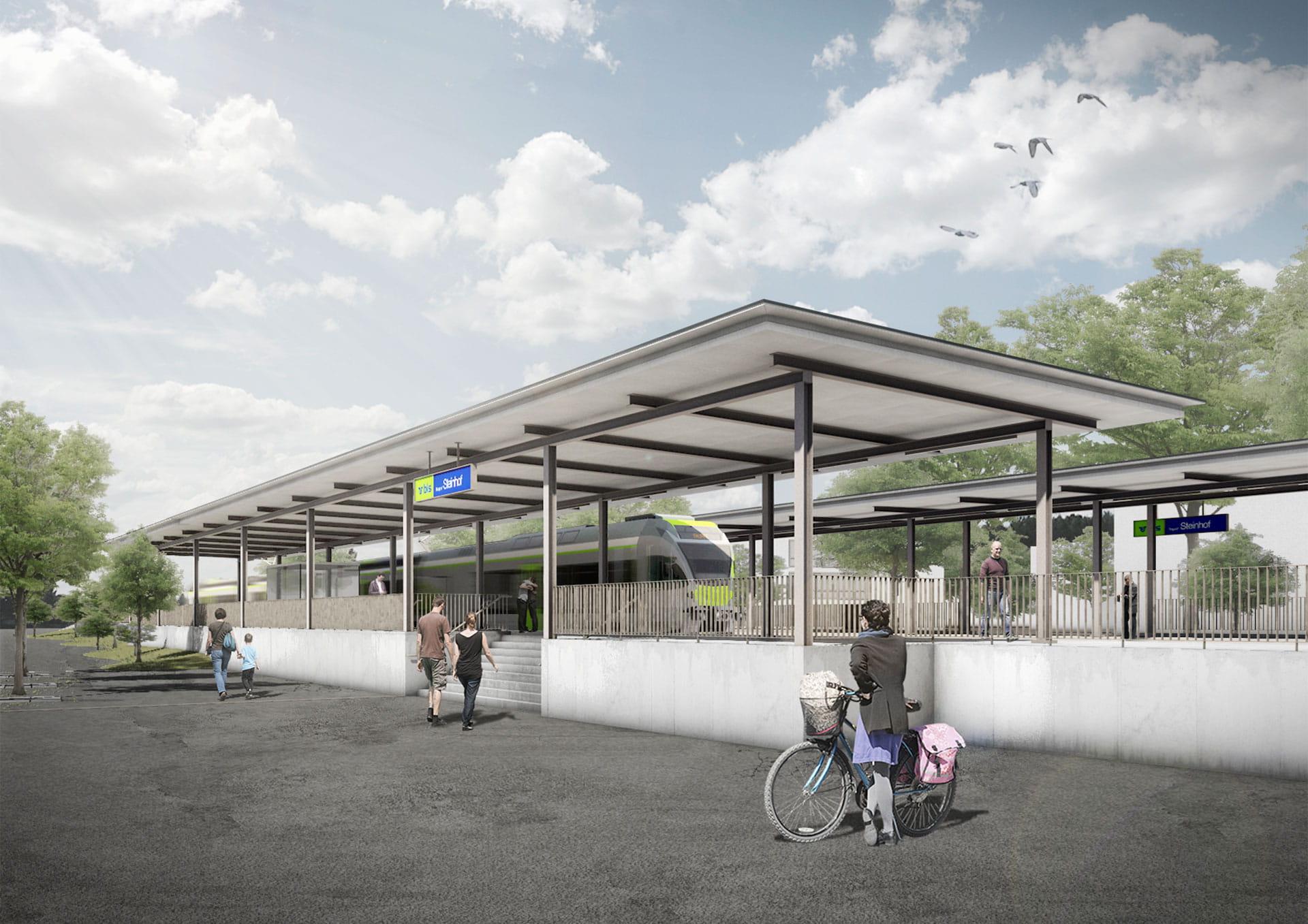 Neuer Bahnhof Burgdorf Steinhof - BLS AG
