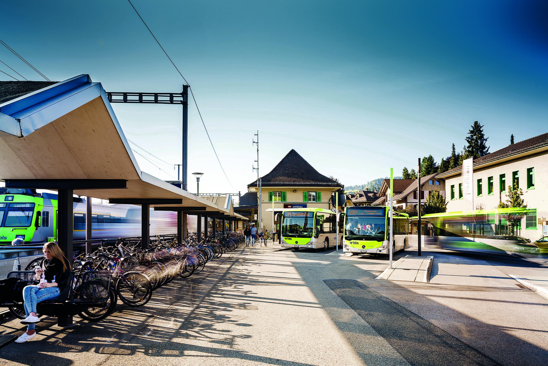 Bahnhof Langnau