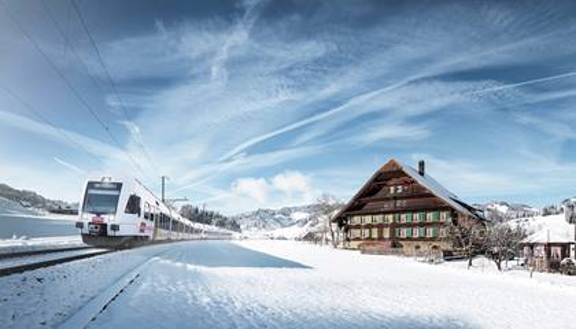 Lötschberger Kambly en hiver