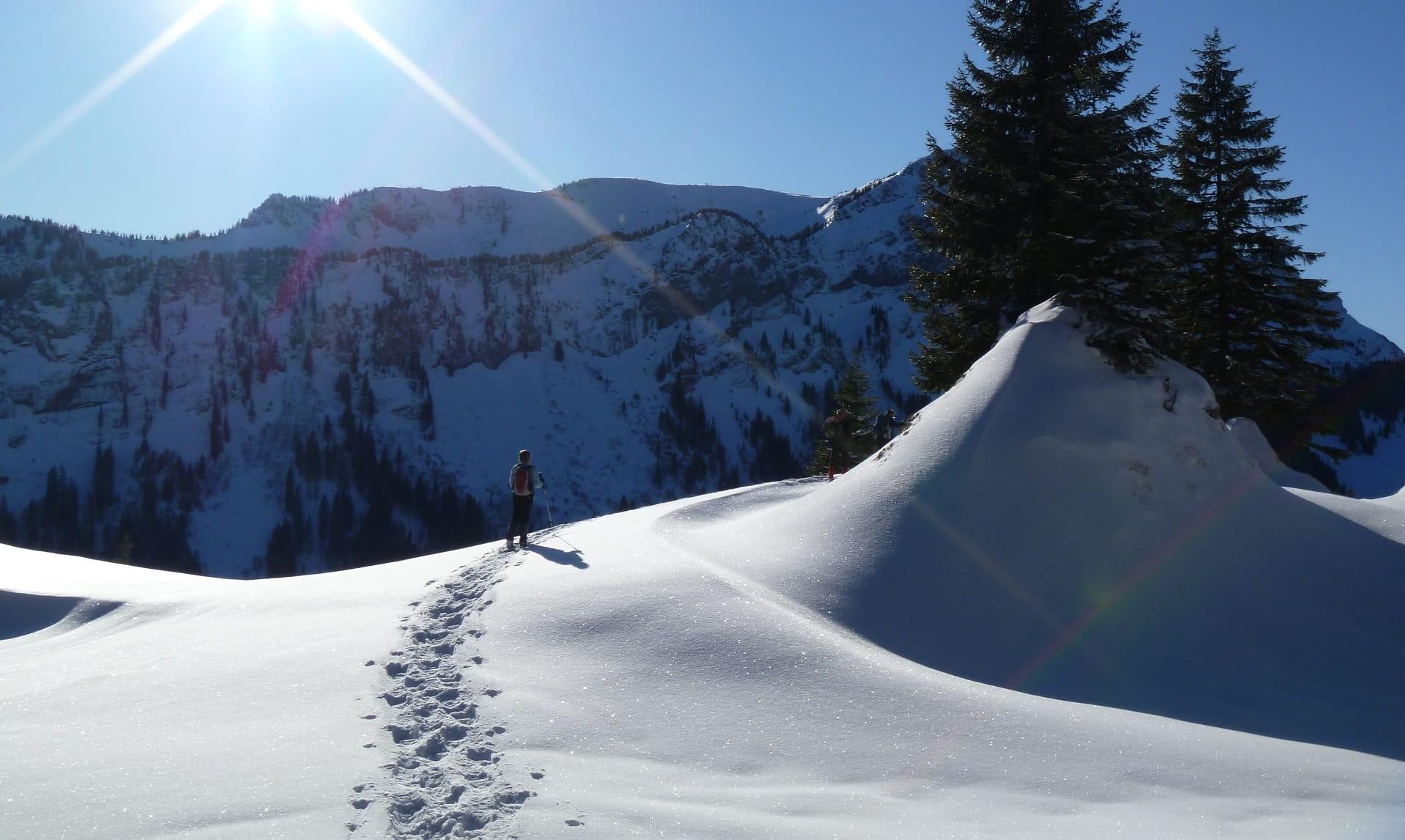 Schneeschuhtrail Luthertal 1