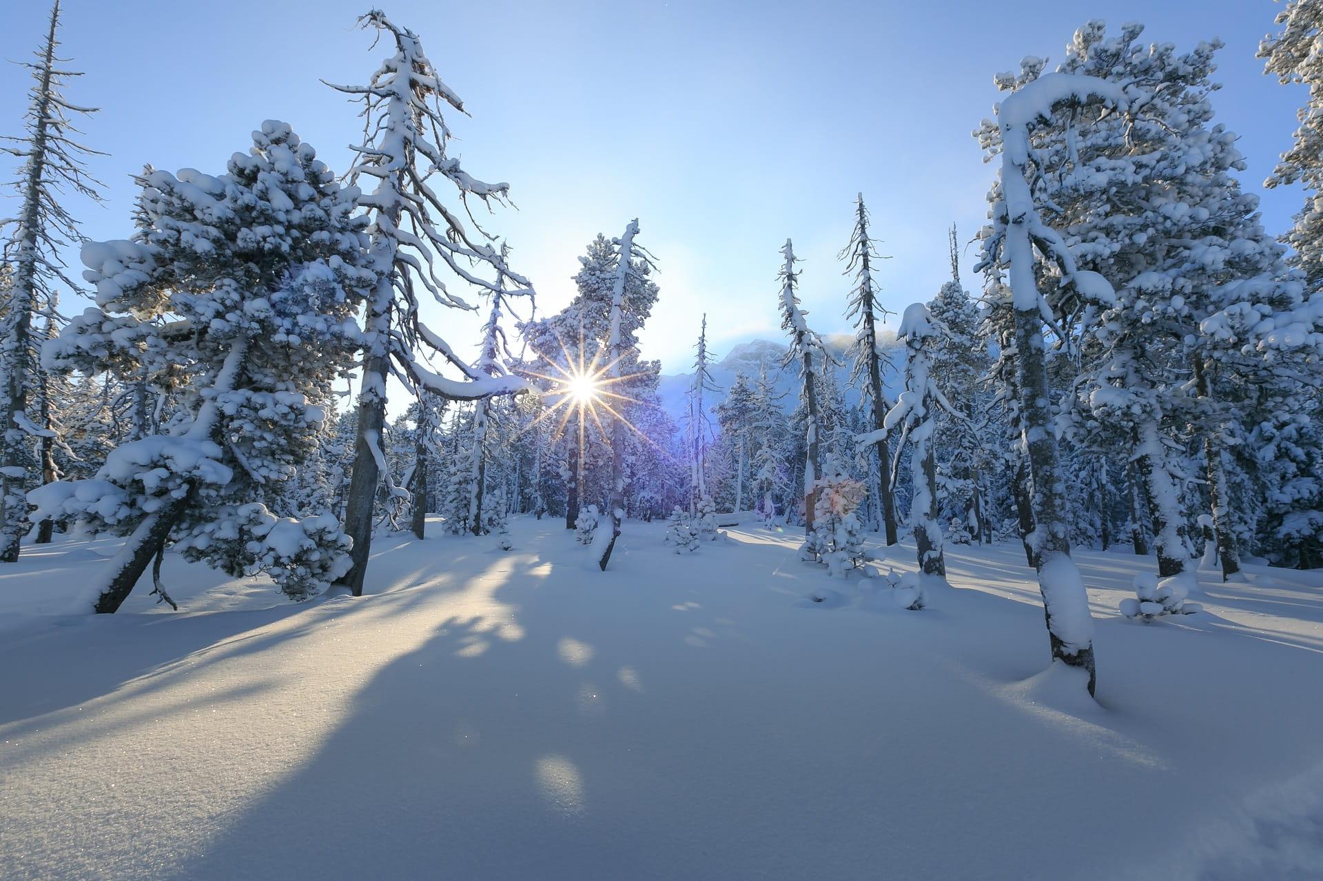 Winterlandschaft in Sörenberg