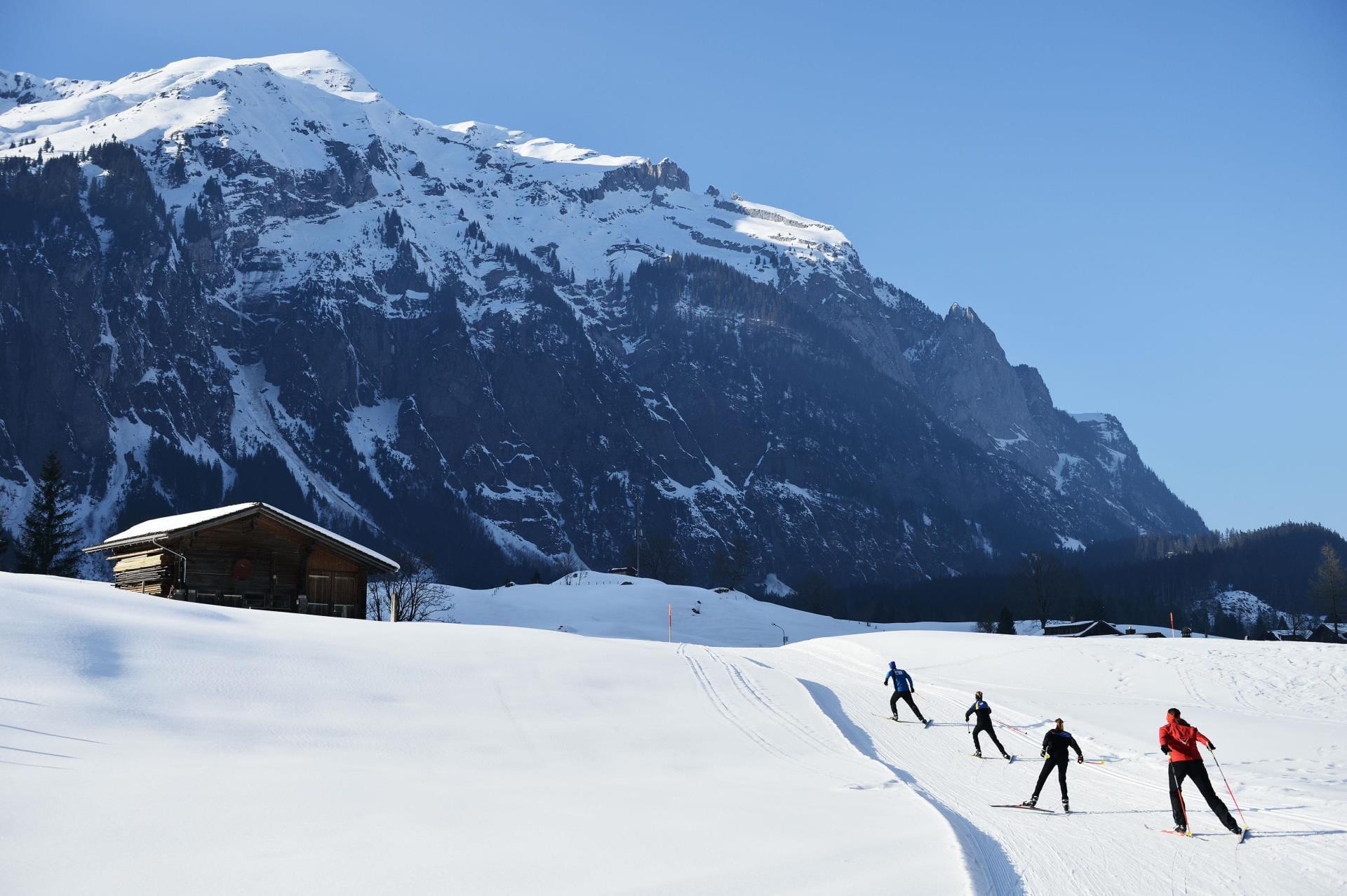Langlauf in Kandersteg