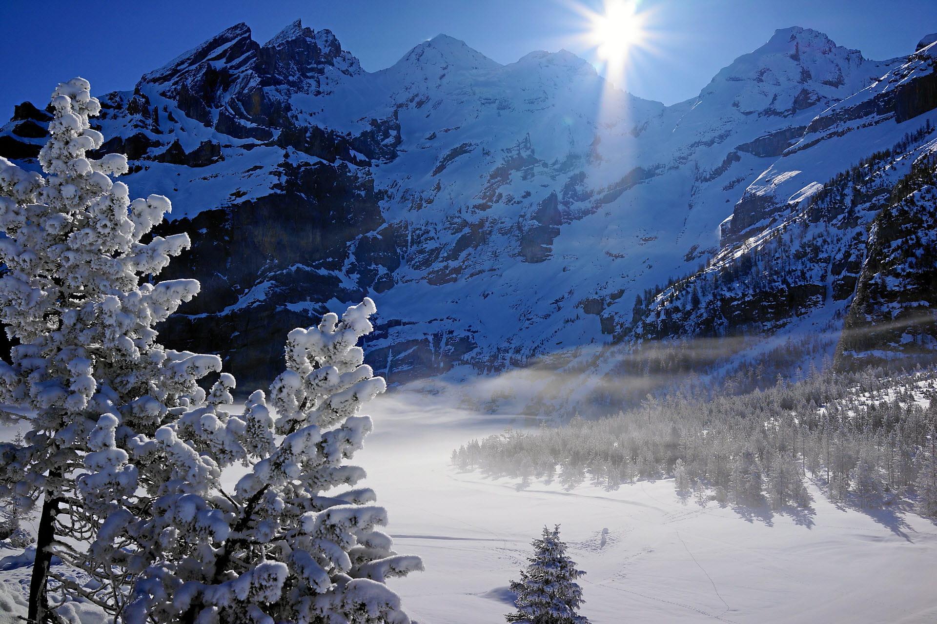 Kandersteg im Winter