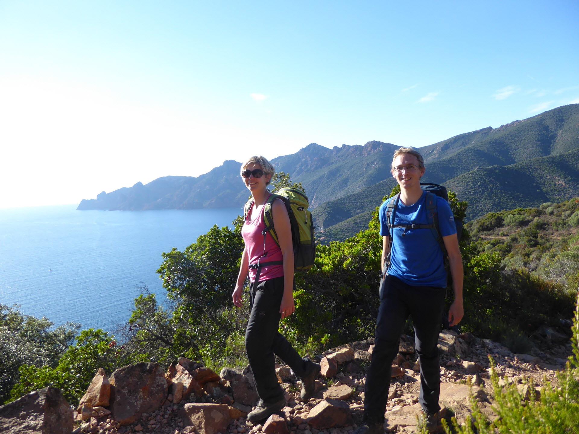 Korsika Kuestenwandern Golf von Girolata