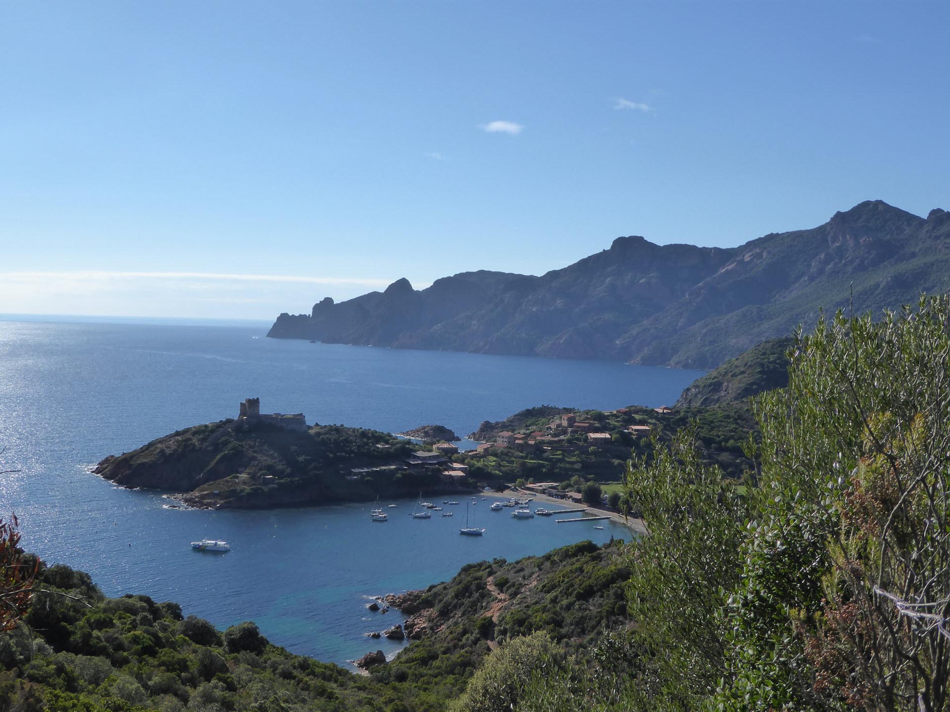 Korsika Golf von Girolata und Scandola
