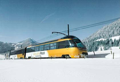 GoldenPass Panoramic Winter Gstaad