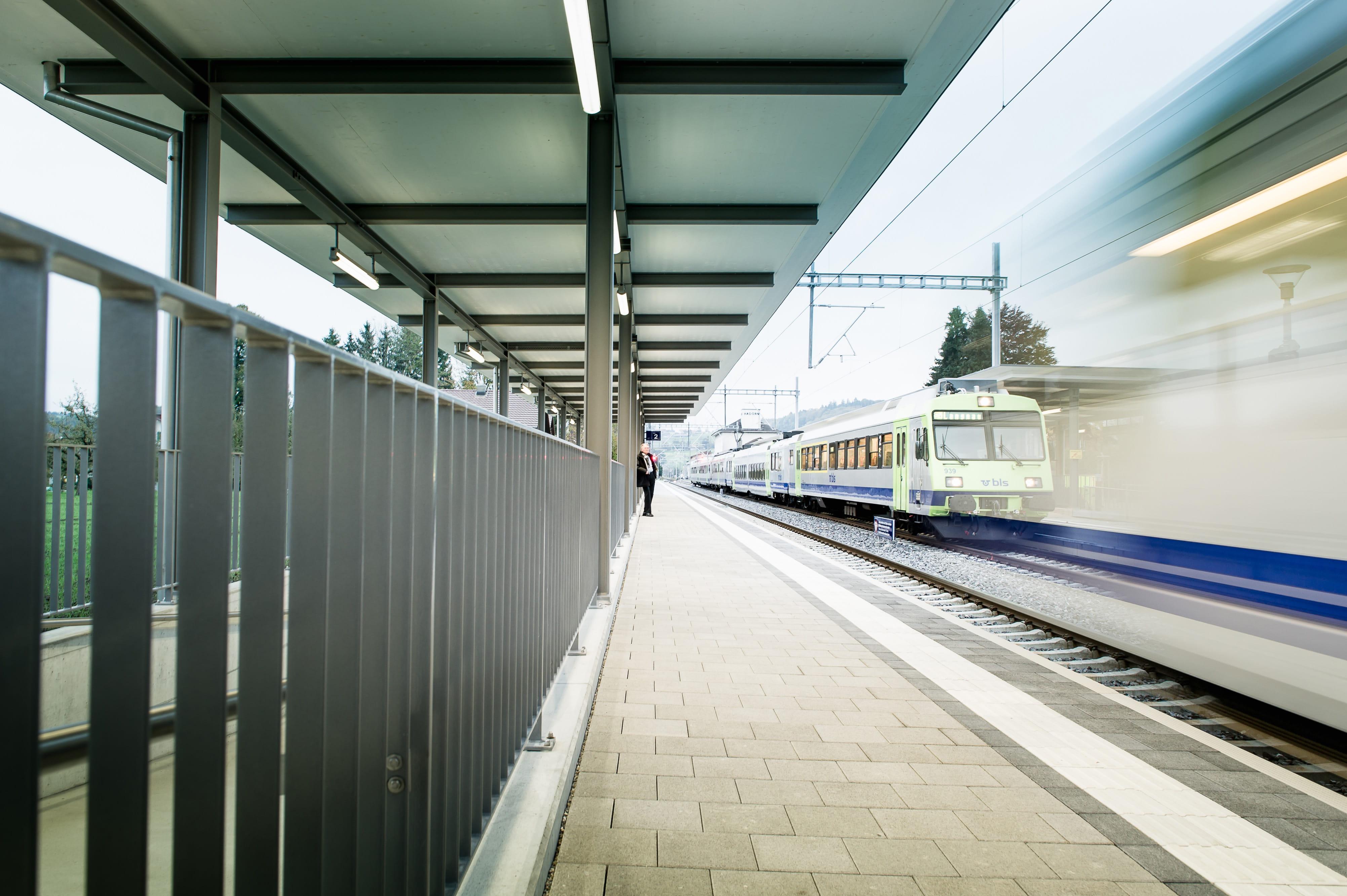Bahnhof Burgistein